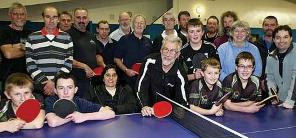 Table tennis is suitable for all ages