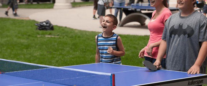 Memories of playing table tennis with family, its benefits & advice